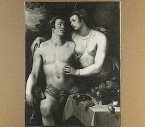 Venus tracht Adonis te weerhouden om op jacht te gaan (Ovidius, Metamorfoses 10:529-559)