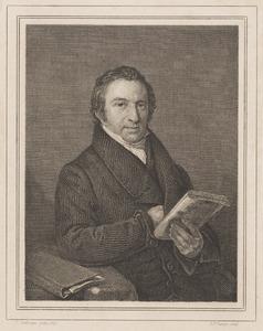 Portret van Daniël Matthijs Kaakebeen (1788-1835)