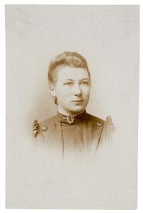 Portret van Gerardina Maria Donkersloot (1871-1913)