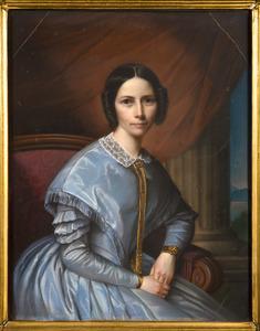 Portret van Johanna Catharina Adelaide Schuyt (1801-1869)