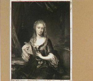 Portret van Anthonetta van Schuylenburch (1722-1786), echtgenote van Berent Willem Buys, later van Cornelis van der Beke