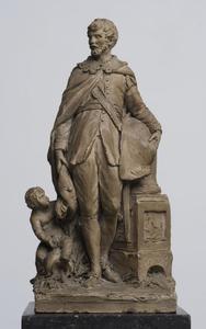 Studie voor een monument voor de burgemeester Jean de Locquenghien (1517/1518-1573/1574)