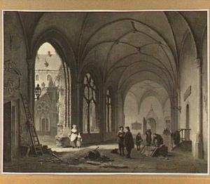 Utrecht, de Kloostergang van de Dom