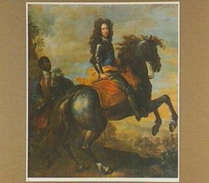 Ruiterportret van prins Friedrich von Hessen-Kassel (1676-1751), later koning Frederik I van Zweden