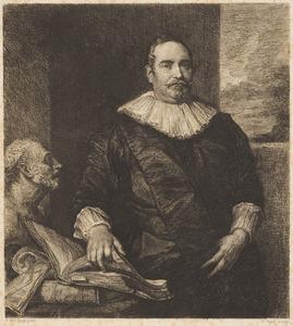 Portret van Justus van Meerstraeten, echtgenoot van Elisabeth van Assche, raadpensionaris van Brussel