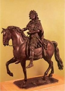 Ruiterbeeldje van Koning Lodewijk XIV