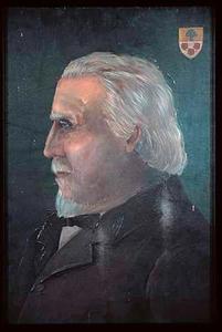 Portret van een man, waarschijnlijk een lid van de familie De Goede