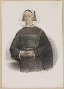 Portret van Anna van Feijtsma