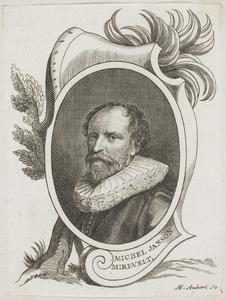 Portret van Michiel van Mierevelt (1567-1641)