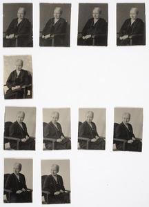 Serie portretten van Clara Catharina van de Poll (1855-1943)