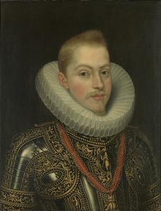 Portret van Philips III van Habsburg (1578-1621), koning van Spanje