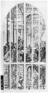 De twaalfjarige Christus lerarend in de tempel