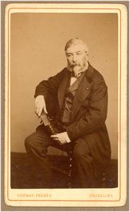Portret van de schilder Henri Leys (1815-1869)