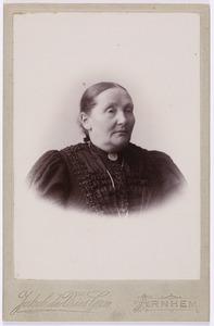 Portret van Clementine Susanna Francisca de Both (1834-1921)
