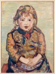 Portret van Sabine Fiedler (1939)
