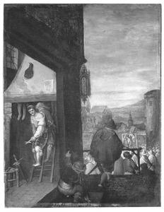 Gevangenneming en terechtstelling van een ketter