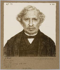 Portret van Dr. J.A. Fles
