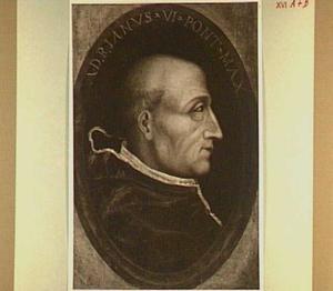 Portret van Adriaan Boejens, paus Adrianus VI (1459-1523)