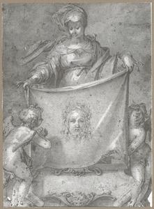 Heilige Veronica met de zweetdoek van Christus
