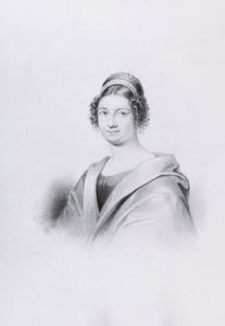 Portret van een vrouw, mogelijk Wilhelmina Frederica van der Hoeve (1784-1815)