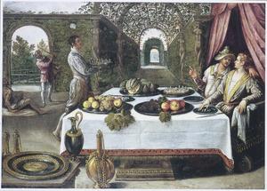 De parabel van de rijke man en de arme Lazarus
