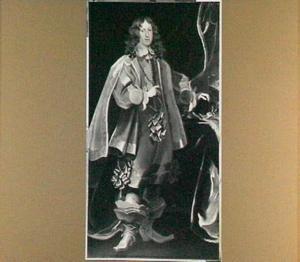 Portret van aartshertog Ferdinand Karl (1628-1662), regent van Tirol, staande ten voeten uit