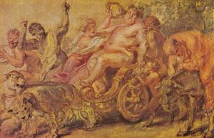De triomftocht van Bacchus (Ovidius, Metamorfosen, III, 528)