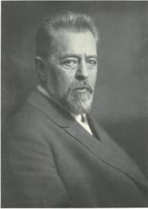 Portret van Sigmund Röhrer (1861-1929)