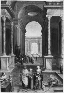 Christus als twaalfjarige in de tempel