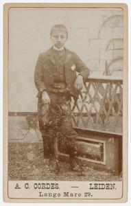 Portret van een jongen uit de familie Vilders