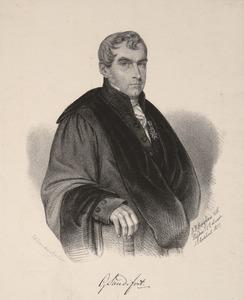 Portret van Gerard Sandifort (1779-1848)