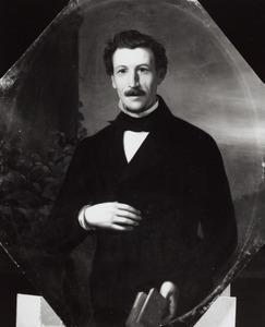Portret van Christiaan Frederik Zeeman (1825-1894)