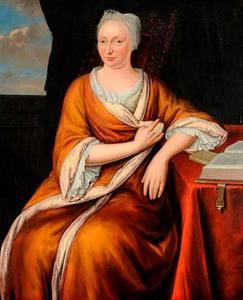 Portret van Isabella (of Anna ?) van Weningen (Wenichem?) (....-....)
