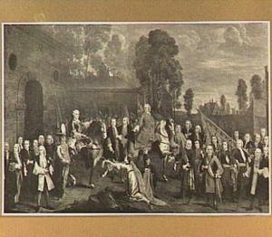 Intrede van Charles de Lorraine te Antwerpen in 1749