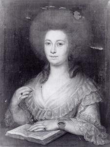 Portret van een echtgenote van Adriaen van der Gon, waarschijnlijk Catharina Tekenburg (1755-1824)