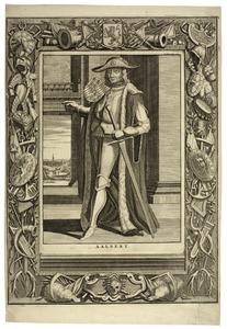 Portret van Aelbrecht van Beieren (1336-1404)