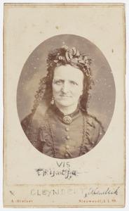 Portret van Trijntje Vis (1827-1879)