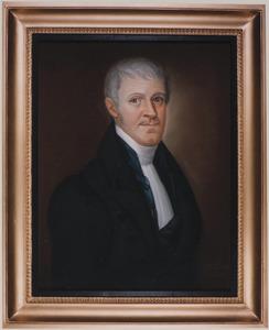Portret van Hendrik Luidwijn van Linden van den Heuvell (1785-1854)