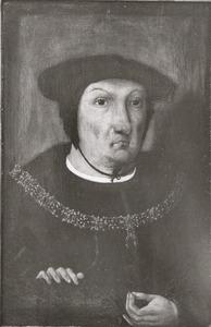 Portret van Jan van Glimes (1452-1532)