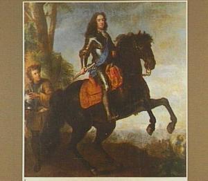 Ruiterportret van landgraaf Karl van Hessen Kassel (1654-1730)