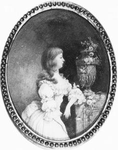 Portret van Louise Isabella van der Feltz (1778-1857)