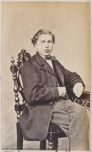 Portret van een man uit familie Flieringa