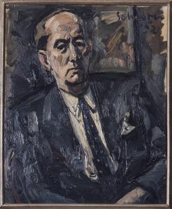 Portret van Peter Scharoff (1886-1969)