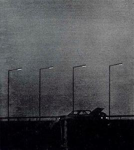 Autopech bij nacht