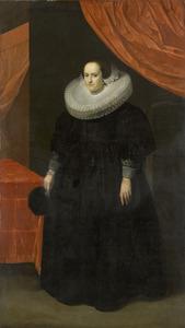 Portret van Suzanna Moor (1608-1657)