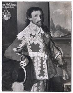 Portret van Christen Skeel Albertsen (1603-1659)