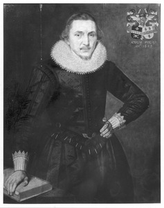 Portret van Rudolph Warners Emmen (1589-1654)