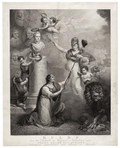 'Hulde van het Hersteld en Verenigd Nederland aan Koning Willem den Eersten'