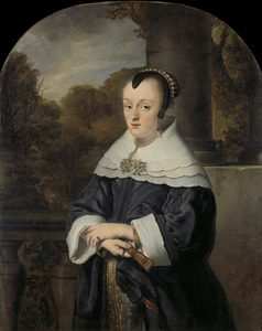 Portret van Maria Rey (?-1703)