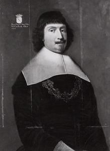 Portret van een een man, waarwchijnlijk Lambert Berent van Oer (?-1672)